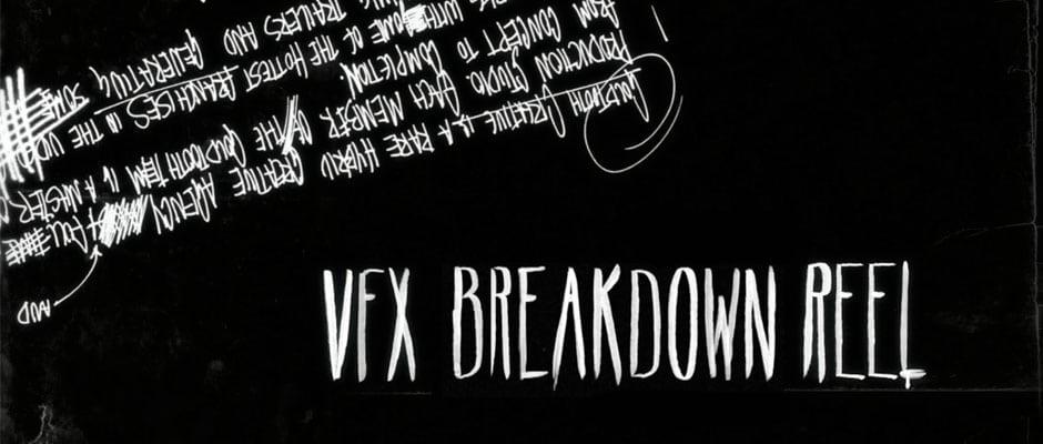 VFX Breakdown Reel